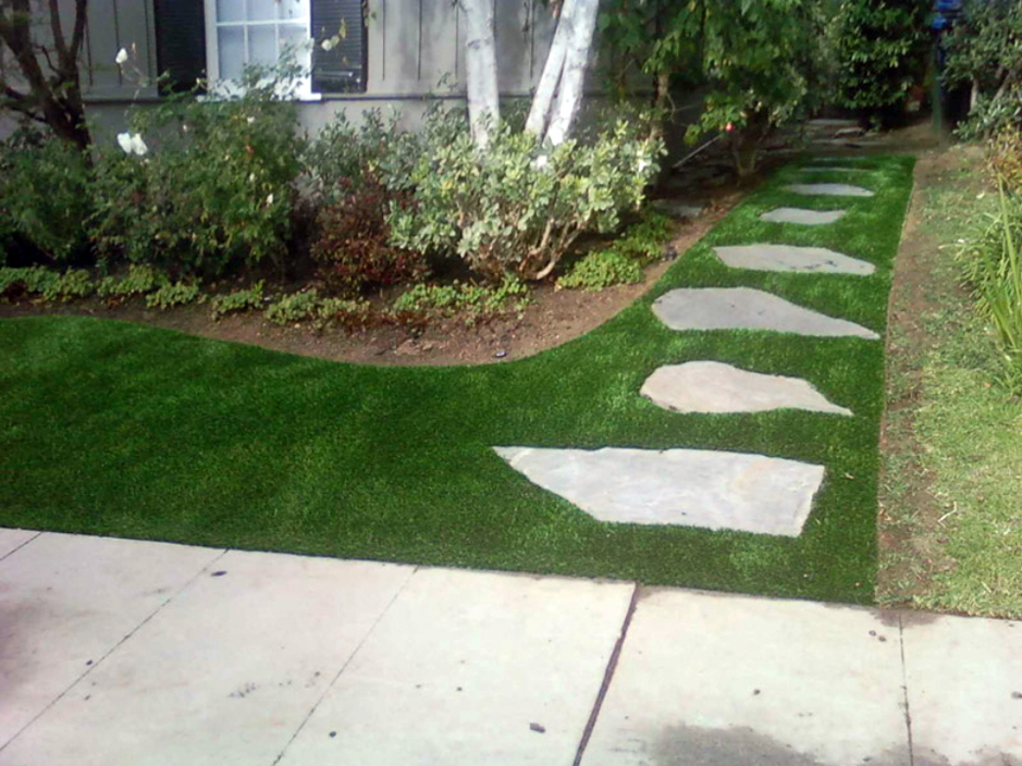 Artificial Lawn London California Roof Top Front Yard Design