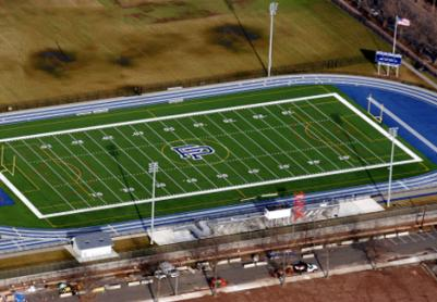 Artificial Grass Photos: Artificial Turf Coalinga, California Stadium