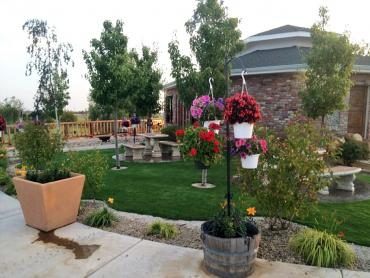 Artificial Grass Photos: Artificial Turf Cost Tulare, California Paver Patio, Commercial Landscape