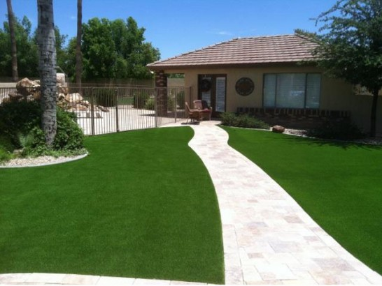 Artificial Grass Photos: Best Artificial Grass Rail Road Flat, California, Front Yard Ideas