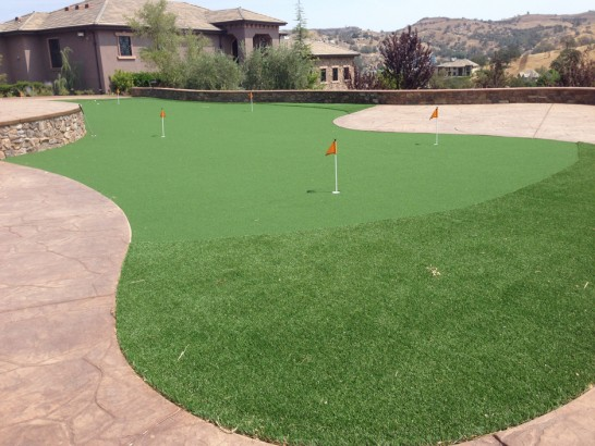 Fake Grass Carpet Las Lomas, California Putting Greens artificial grass