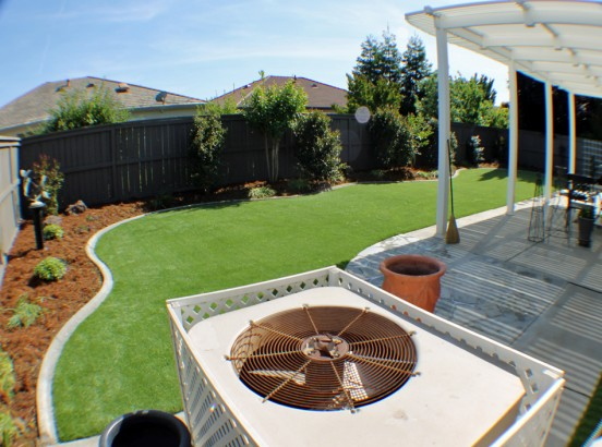 Artificial Grass Photos: Fake Grass Carpet Mountain Ranch, California Paver Patio, Backyard Design