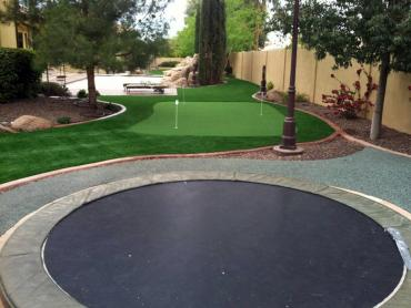 Artificial Grass Photos: Fake Grass Vallecito, California Diy Putting Green, Backyard Makeover