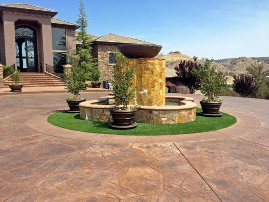Artificial Grass Photos: Grass Carpet Atherton, California City Landscape, Front Yard Landscaping