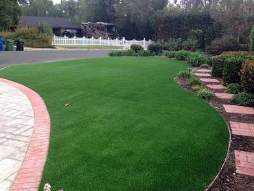 Artificial Grass Photos: Green Lawn Derby Acres, California Landscape Photos, Small Front Yard Landscaping