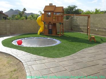 Artificial Grass Photos: How To Install Artificial Grass Biola, California Paver Patio, Backyard Landscape Ideas