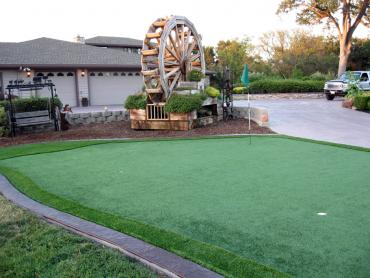 Artificial Grass Photos: Synthetic Turf Supplier Opal Cliffs, California Putting Green Turf, Front Yard Landscaping